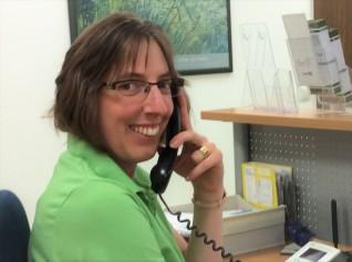 Praxismanagerin Andrea Becker